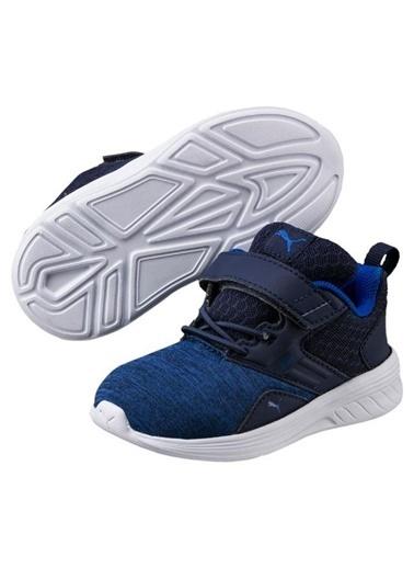 Puma Crocs 204537-7C1 Crocband Clog Çocuk Bebek Sandalet Terlik Lacivert